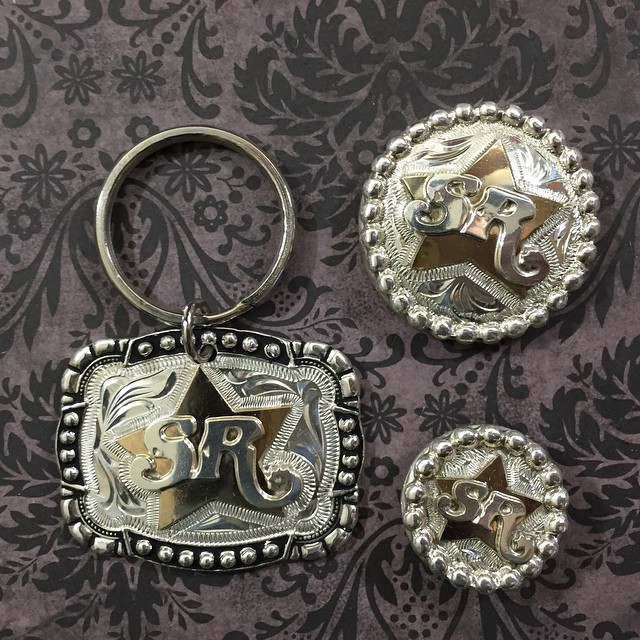 KEYCHAIN AND CONCHOS